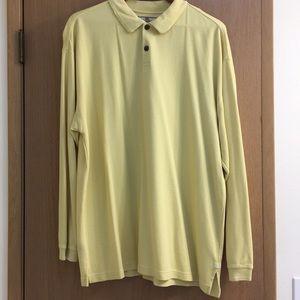 Tommy Bahama Long-sleeve Yellow Polo